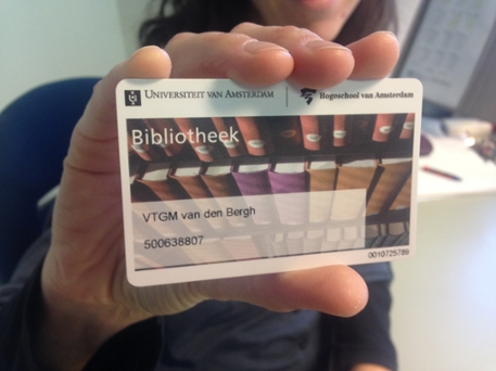 library card for external borrowers